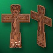 Crosses with the crucifixion